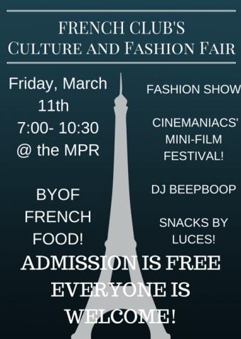 French Fashion Show & Festival on Friday