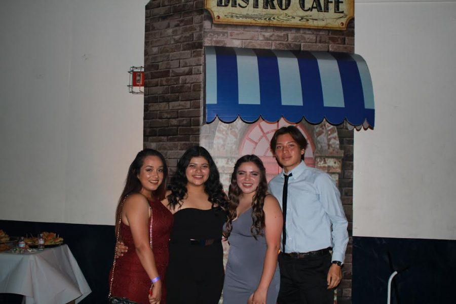 Left to Right- Karen Villacorta,Helen Umana, Jessica Ramirez, Andrew De Leon