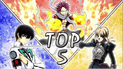 Top 5 Anime of 2016