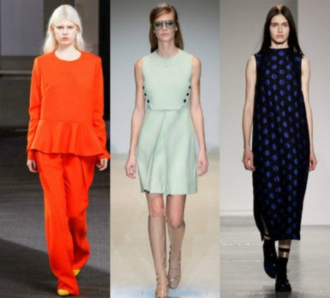 Fall Fashion Trends: Orange, Pastel, Midiskirts Taken by: Yannbis Vlamos, Thornton Bregazz