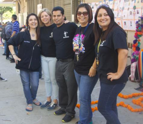 Left To Right: Molinaro, Turner, Sanchez, Urbina, Pedrani--- Photographed by  Juan Gonzalez
