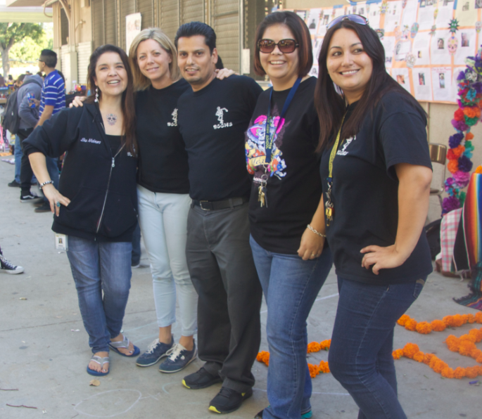 Left To Right: Molinaro, Turner, Sanchez, Urbina, Pedrani--- Photographed by  Juan Gonzalez