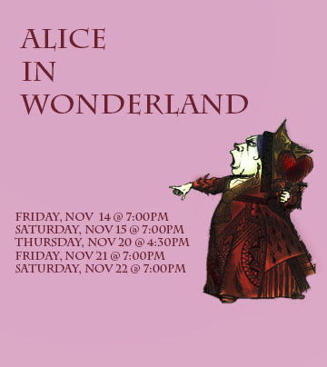 Performing and Visual Arts Presents Alice in Wonderland