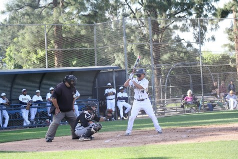 Varsity Baseball Game Against Oak Park