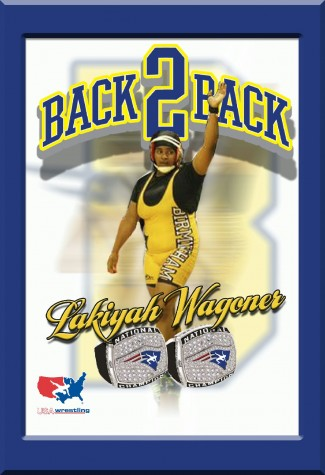 Birmingham's Lakiyah Wagoner, Two Time National Wrestling Champion