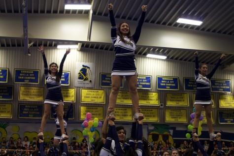 First Pep Rally Generates Patriot Pride
