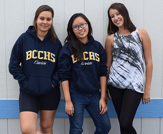 International Students Excited to be BCCHS Patriots