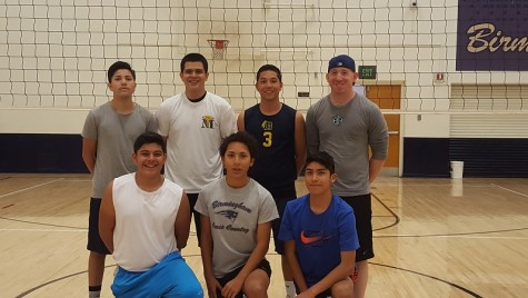 Men's Patriot Volleyball Team Starts Strong