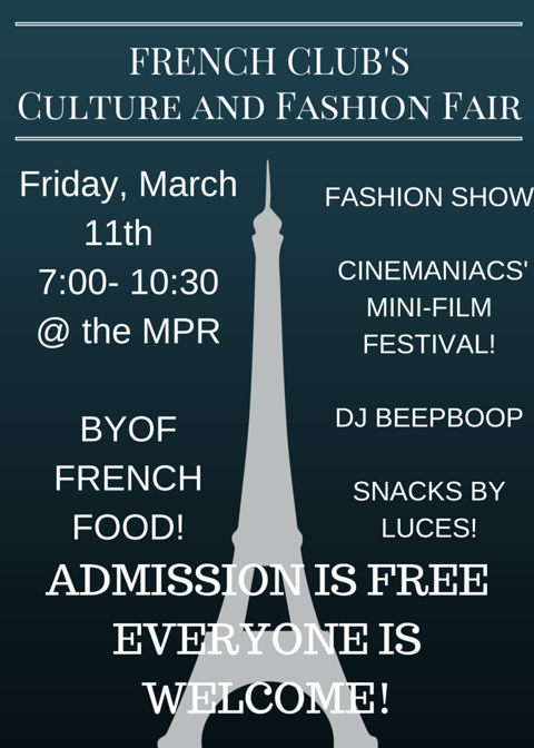 French Fashion Show & Festival on Friday
