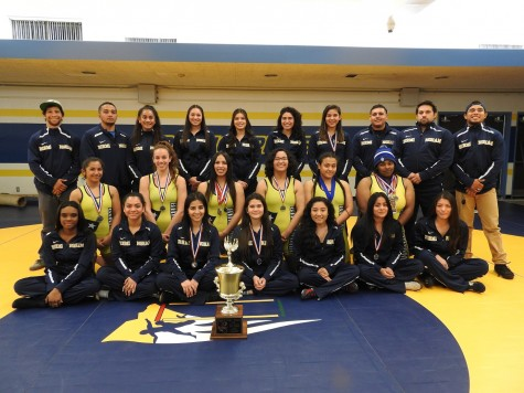 BCCHS Girls' Wrestling Team Wins City Championship Title
