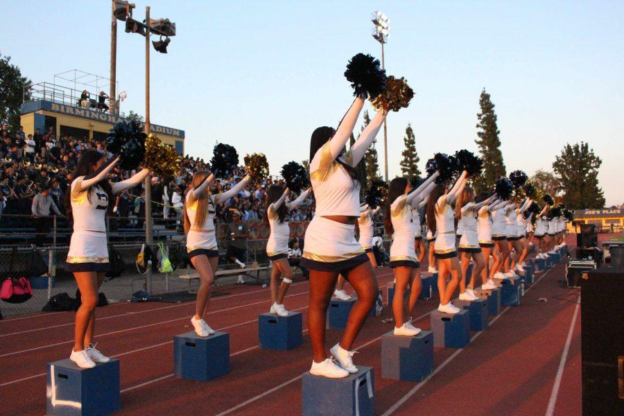 Cheer during Football season