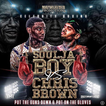 Chris Brown Vs Soulja Boy Canceled