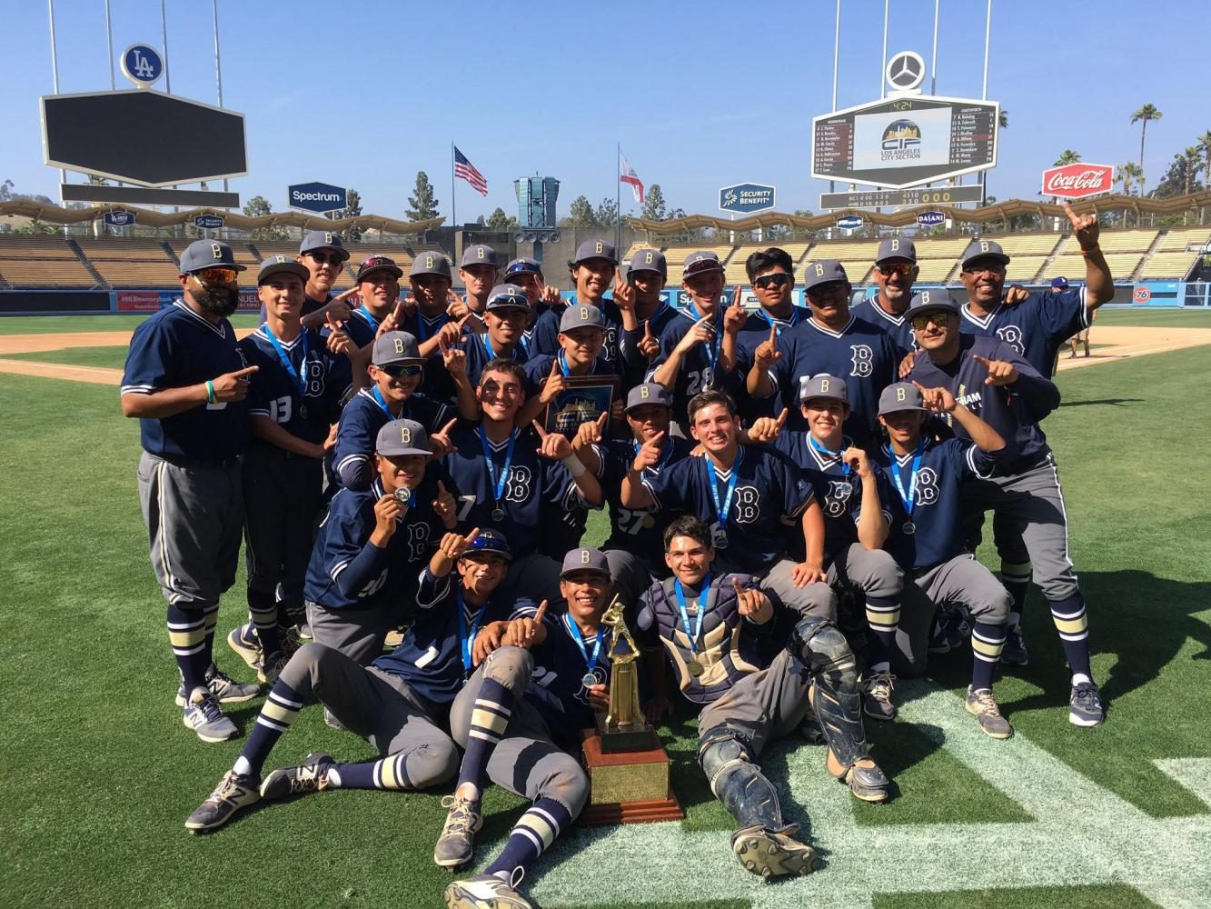 2016-2017  CIF Division 1 Los Angeles City Baseball Champions