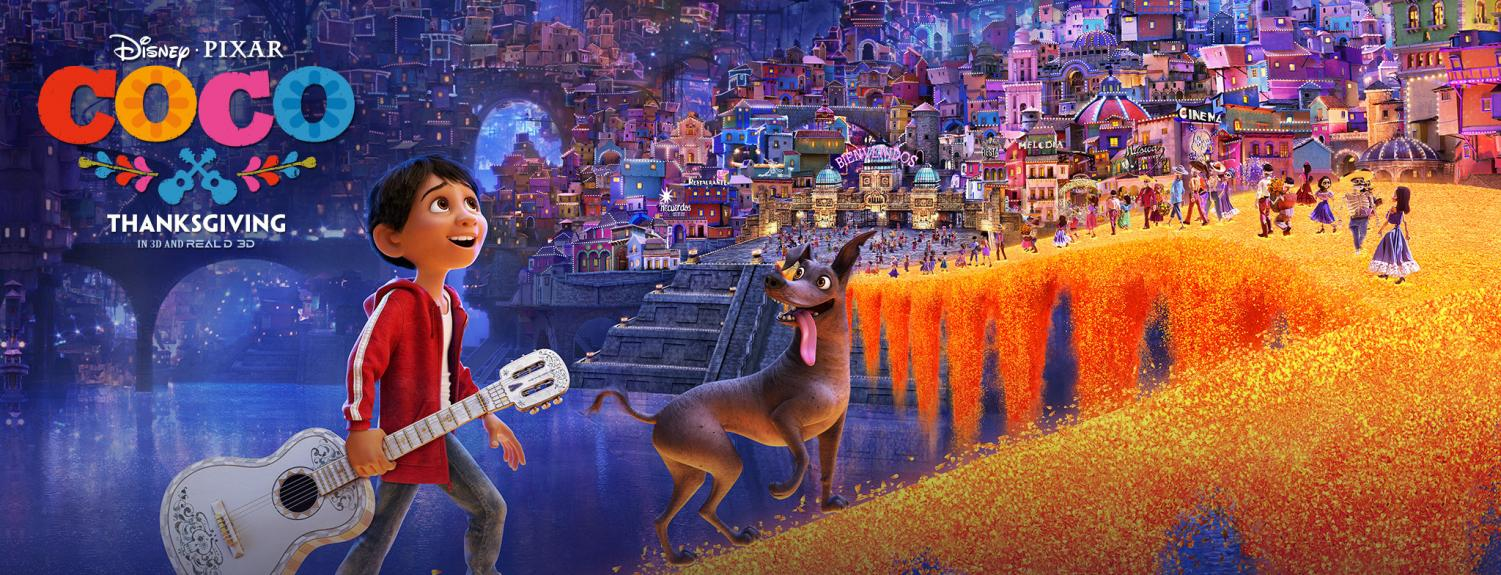 Coco is the top-grossing movie in the United States for the last two weeks.
