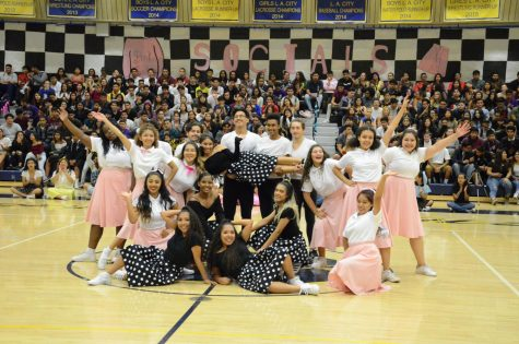 2017 Grease Pep Rally Electrifying