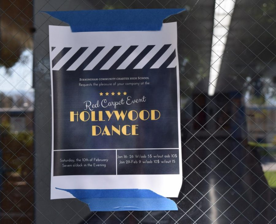 Hollywood-Themed Winter Formal Dance