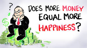 More money more happiness?