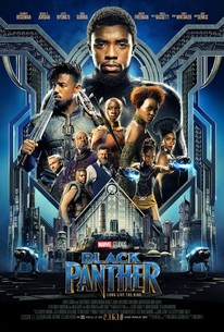 The official poster for the movie Black Panther