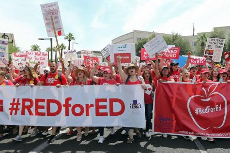 Arizona Teacher Strike Going Into Second Week