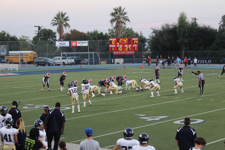BCCHS Patriots game at La Salle High School in Pasadena