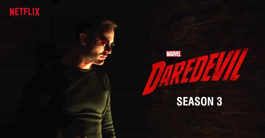 Daredevil season three poster by Marvel