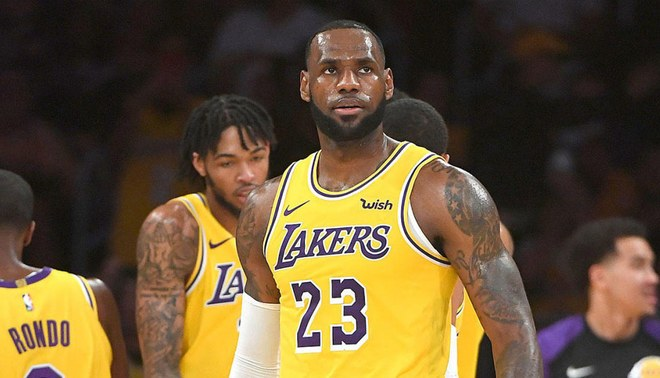 Lebron James and Brandon Ingram.