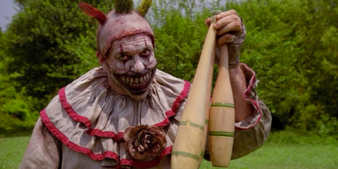Twisty the Clown from American Horror Story.