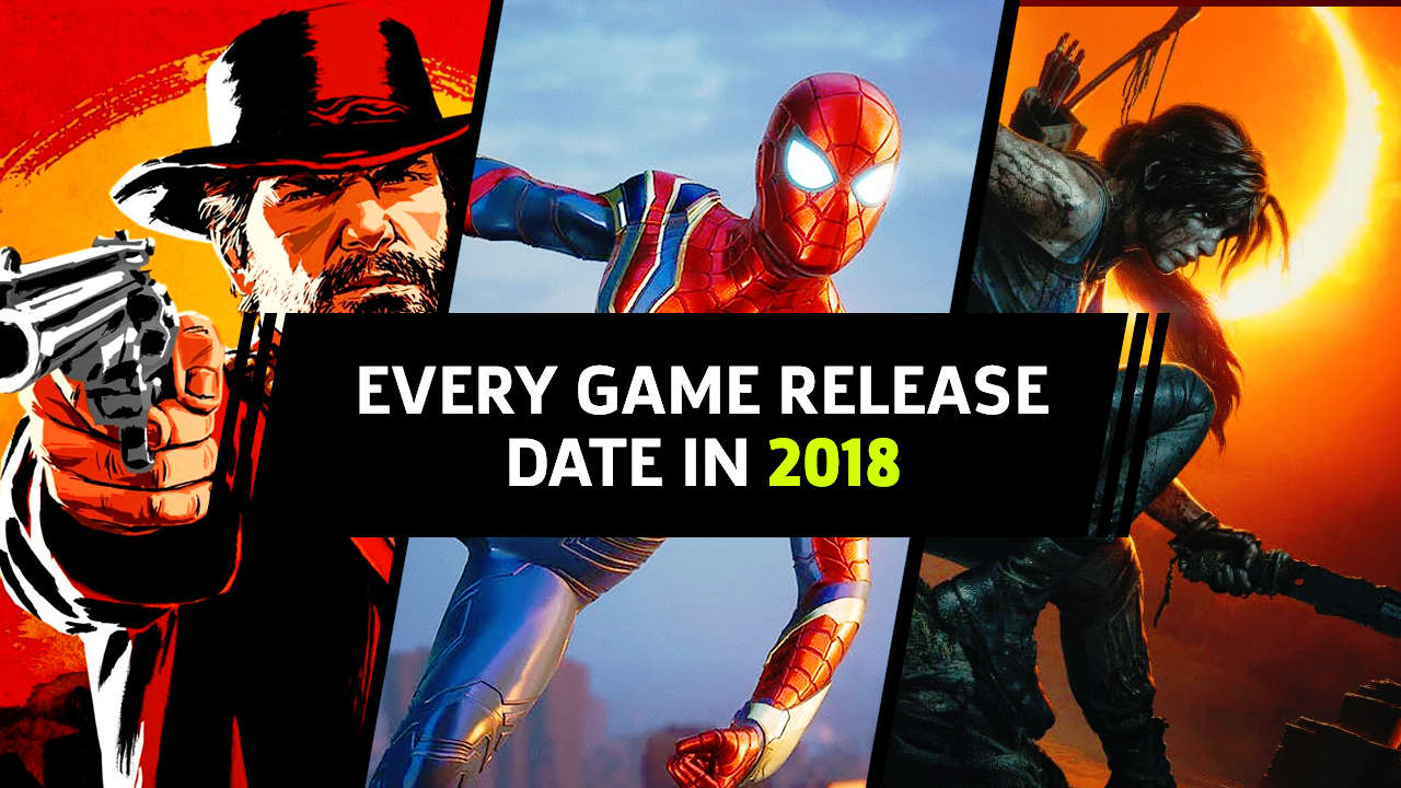 Much anticipated new video games released include Fallout 76, Spiderman, and Shadow of the Tombraider