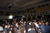 Patriots on the dance floor at the 2018 Homecoming Dance