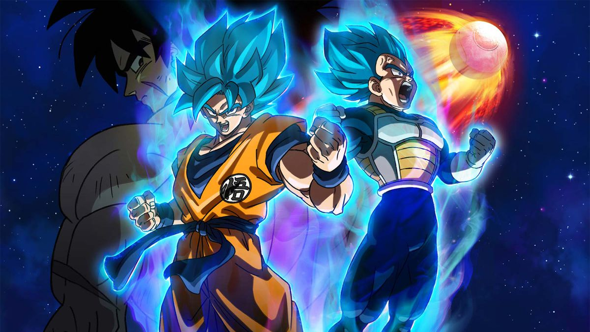 Dragonball Super Broly movie poster.