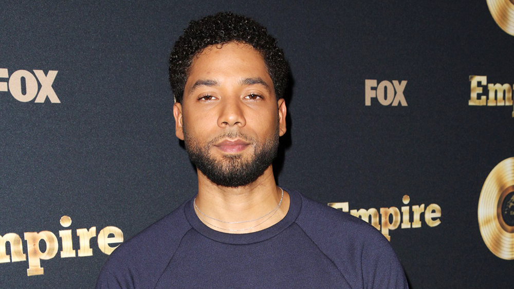 Mandatory Credit: Photo by Brian To/Variety/REX/Shutterstock (8538719as) Jussie Smollett 'Empire' Spring Premiere, Arrivals, Los Angeles, USA - 20 Mar 2017  Actor and singer Jussie Smollett.