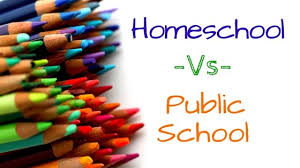 Homeschooling vs. Public Schooling?  Your Choice!