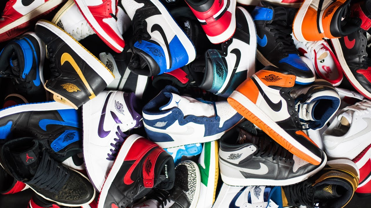 Collection of Jordan 1s