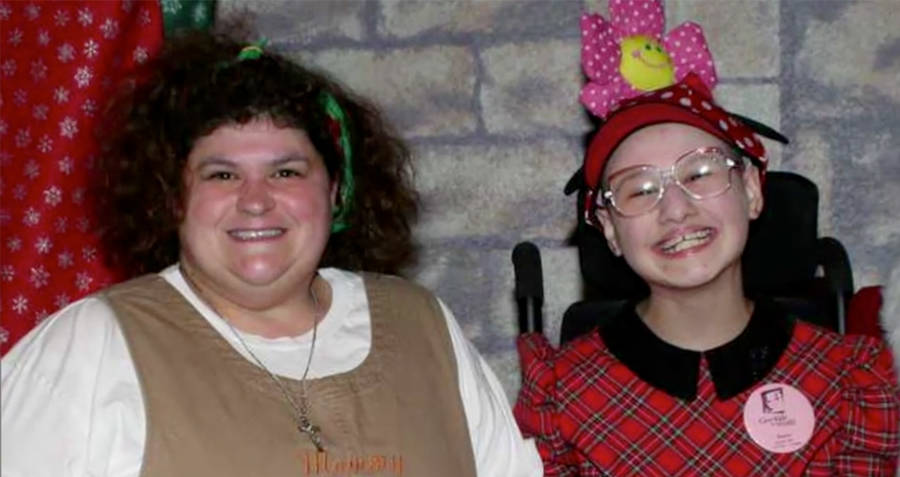 Dee Dee and Gypsy Rose Blanchard at home.