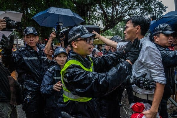 Hong Kong Police Violence Getting Worse