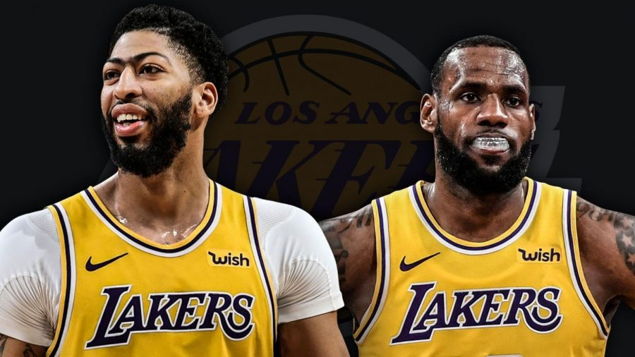 Anthony+Davis+and+LeBron+James+are+teammates%21