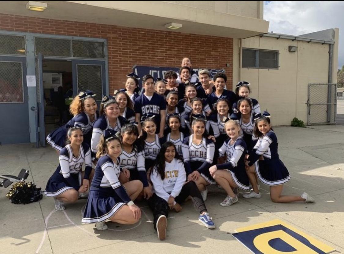 2018 Birmingham Varsity Cheer Team