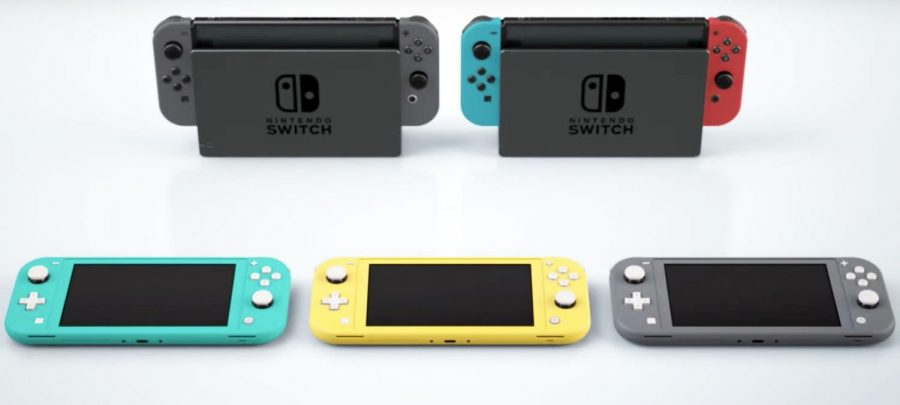 The difference between the Switch and the Lite