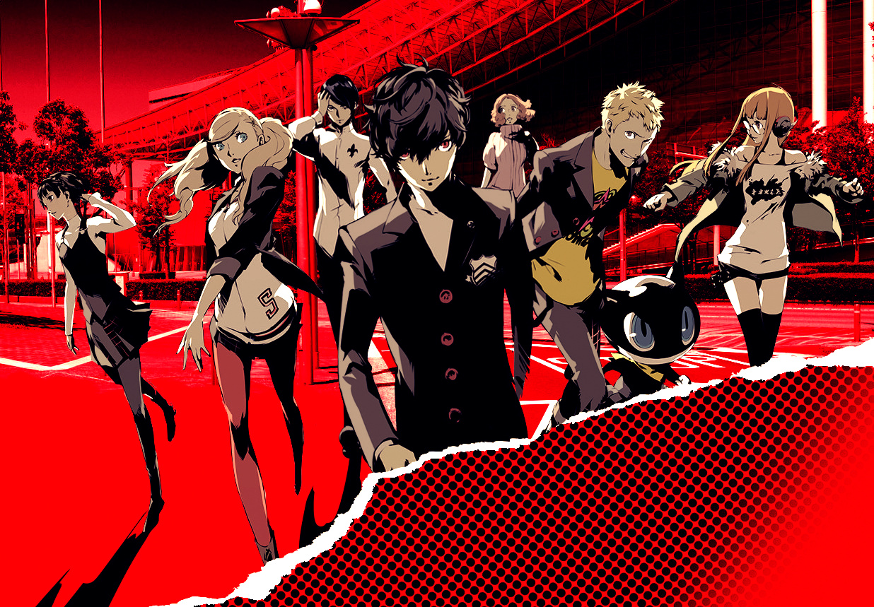 The Phantom Thieves ready to come back on the screen