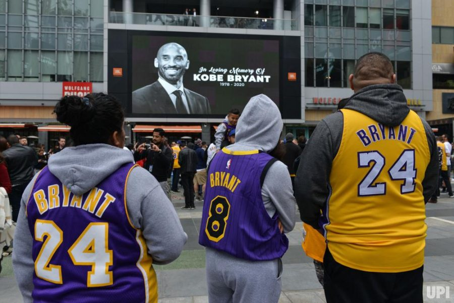 Laker fans devastated after Kobe's death