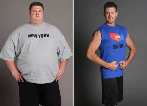 Erik Chopin lost a lot weight on the Biggest Loser show in 2006.