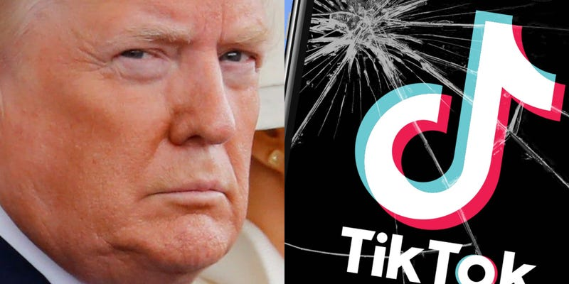 Trump is trying to ban TikTok