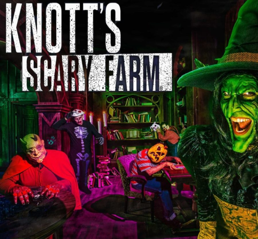 One of the 15 haunted attractions at Knotts Scary Farm