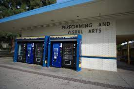 The BCCHS vending machines outside of J Hall.
